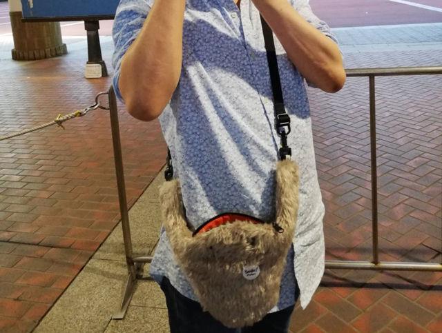seto(セト)のバッグ、コドモサガリがキュートで愛くるしくてずっと夢中