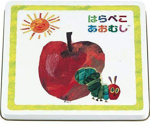 29:泰平製菓のはらぺこあおむしおかき缶