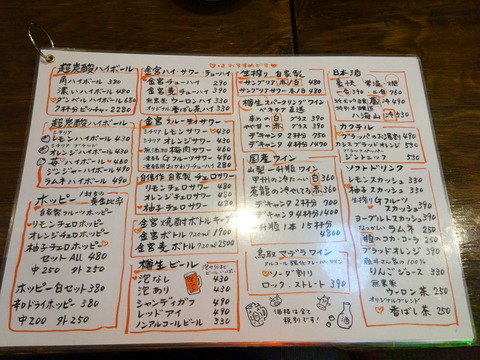 東京MEAT酒場 ドリンクメニュー
