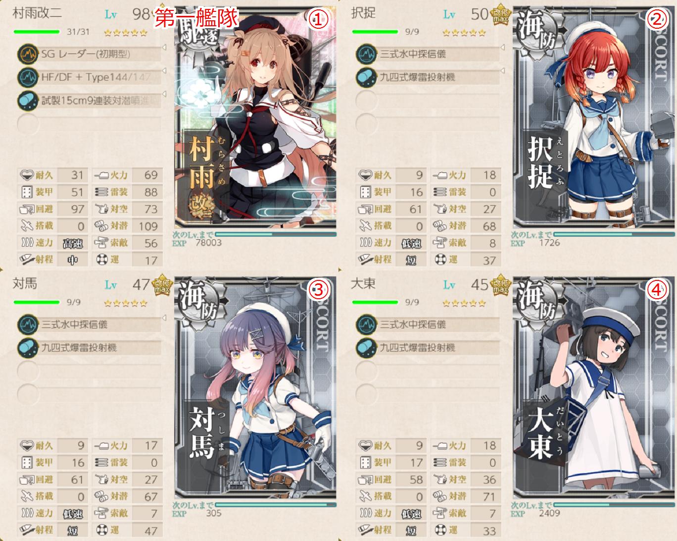 艦 を 護る 海 海防