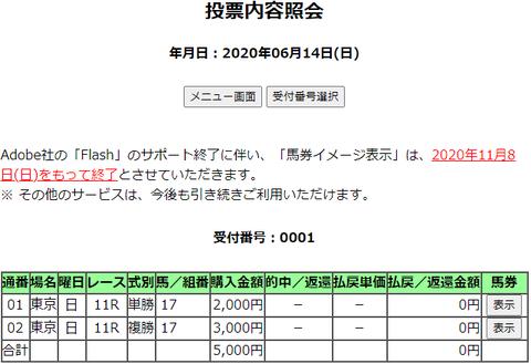 購入馬券照会_20200614