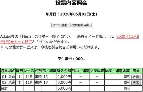 購入馬券照会_20200502