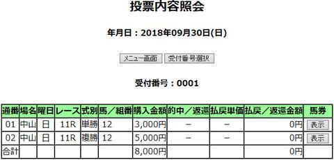 購入馬券照会_20180930