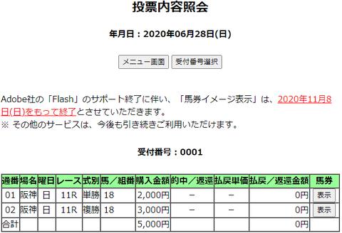購入馬券照会_20200628