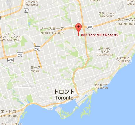 865 York Mills Rd  2   Google マップ