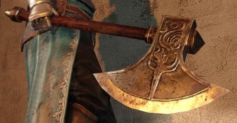 野盗の斧 ダクソ2