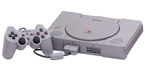 playstation-one-games-console-transparent-background