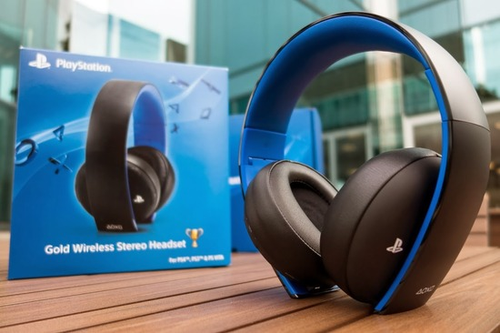 PlayStation Gold Wireless Stereo Headset