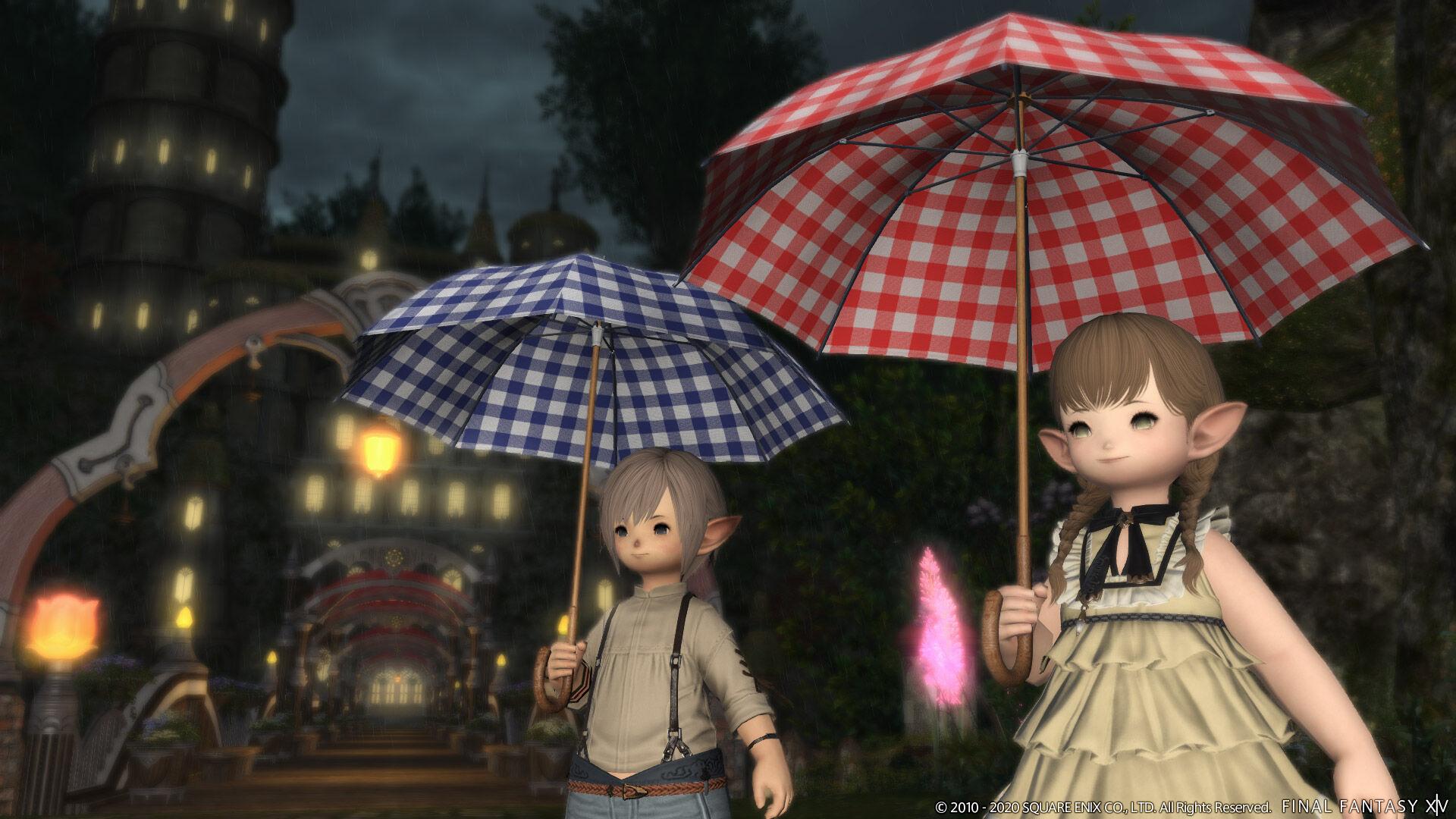 傘 を さす ff14