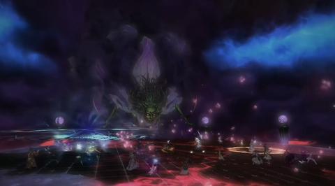 【新生FF14】クリスタルタワー「闇の世界」の暗闇の雲が怖すぎwwww