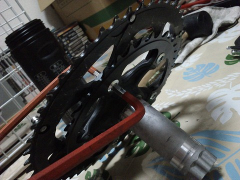 自転車の 自転車 クランク 異音 : tekitou post : コンパクトクランク