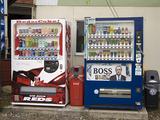 レッズコラボ自販機