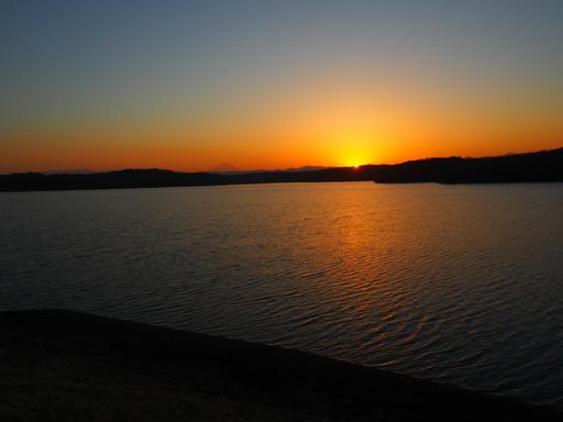 20170204・狭山湖なのだ空10・17時02分沈む瞬間