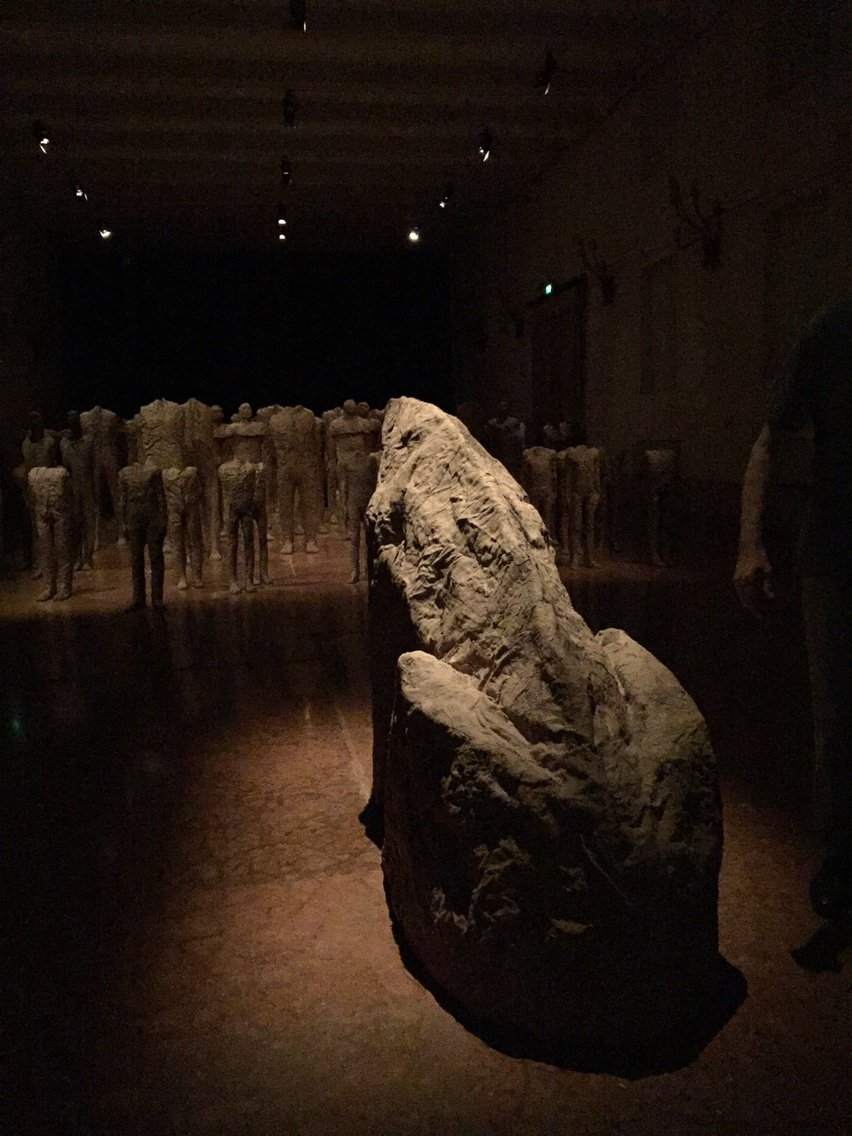 2015 Venice Biennale: Magdalena Abakanowicz: Crowd and Individual