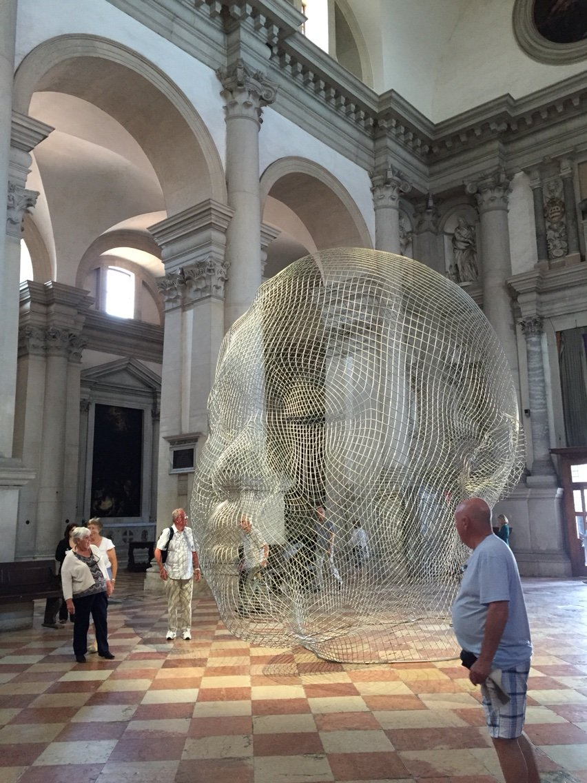 2015 Venice Biennale: Together,  Jaume Plensa