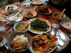 中華街のニーハオで昼食