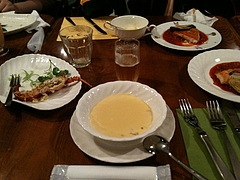 サンポアルの夕飯
