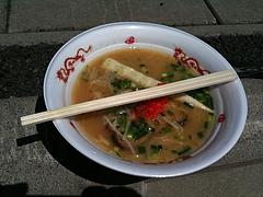 栃木ラーメンフェスタ チーム心 (sin) の鶏白湯ラーメン