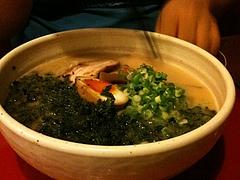 竹風の塩あじ岩のり竹風麺