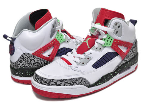 big sale 70354 a8ad5 NIKE JORDAN SPIZIKE □価格 20,520円税込□Color WHITE LIGHT POISON GREEN-UNIVERSITY  RED-COOL GREY □スタイル 315371-132 □発売日 2015 6 24