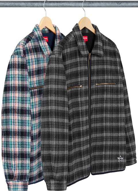 supreme-19aw-19fw-fall-winter-quilted-plaid-zip-up-shirt-02