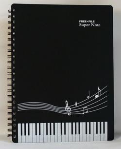 五線紙と鍵盤