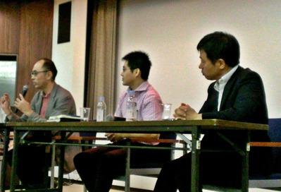 藤田さん、秋元先生、福島先生