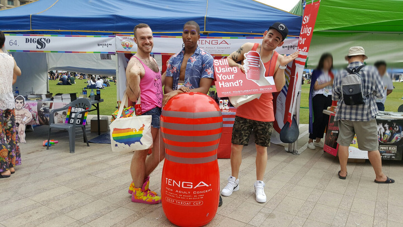 。レKorea Queer Festival 2016(seoul city hall hiroba)11