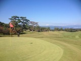 グリーンから富士