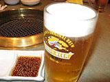 「正庵」の生ビール