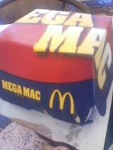 メガマック箱