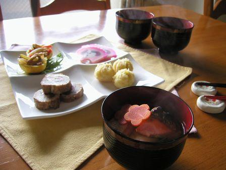 1月2日のお昼ご飯