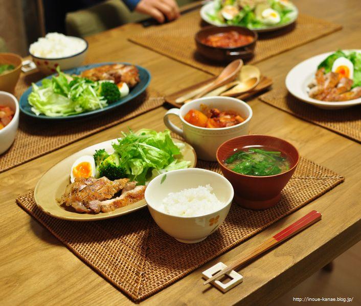 鶏肉 晩 御飯