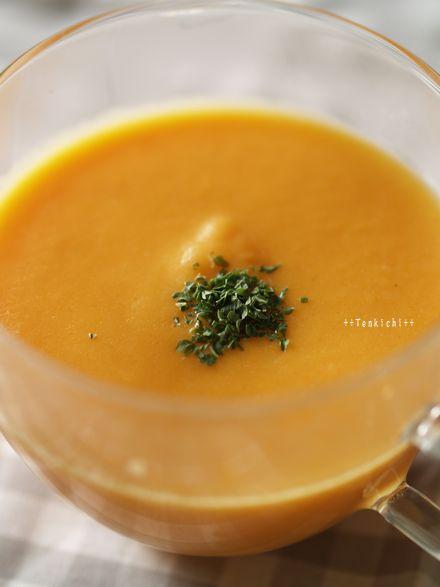 母ちゃんちの晩御飯とどたばた日記-にんじんスープ