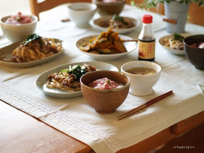 母ちゃんちの晩御飯とどたばた日記-6月26日