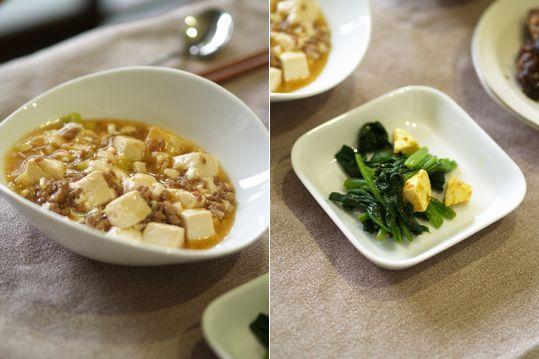 母ちゃんちの晩御飯とどたばた日記-久しぶりマーボー豆腐
