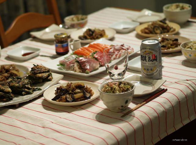母ちゃんちの晩御飯とどたばた日記-5月23日