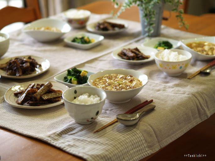 母ちゃんちの晩御飯とどたばた日記-6月23日