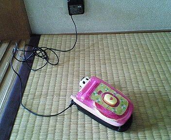 オットの携帯が・・・