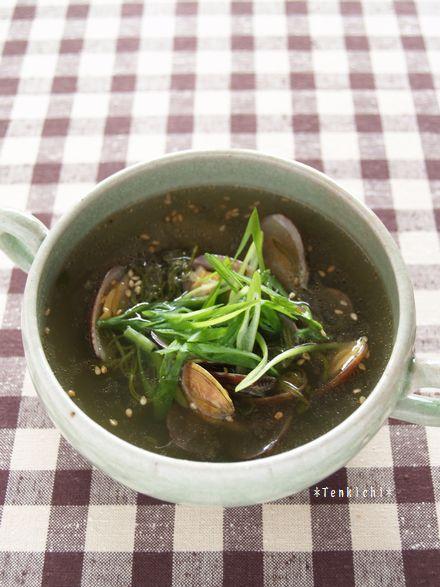 メカブスープ