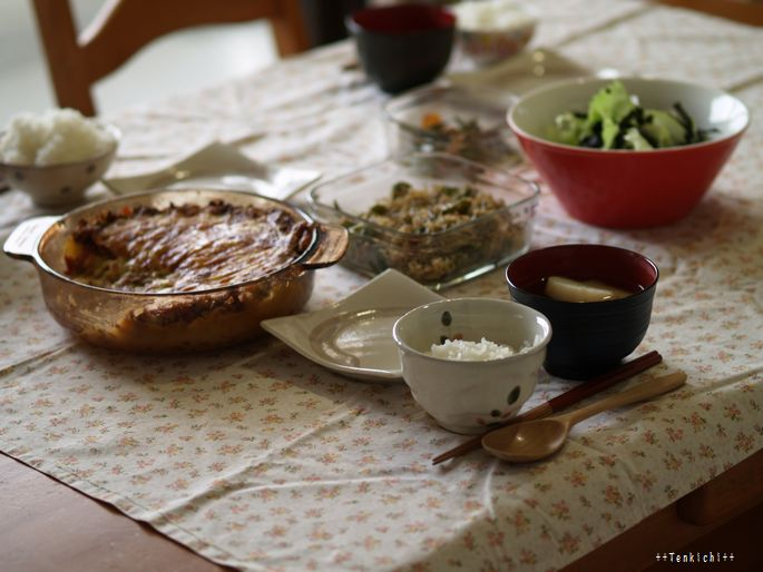 母ちゃんちの晩御飯とどたばた日記-5月20日