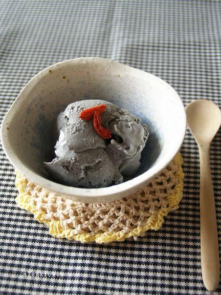 黒胡麻チーケーアイス2