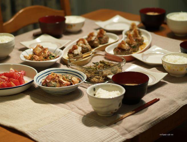 母ちゃんちの晩御飯とどたばた日記-5月24日