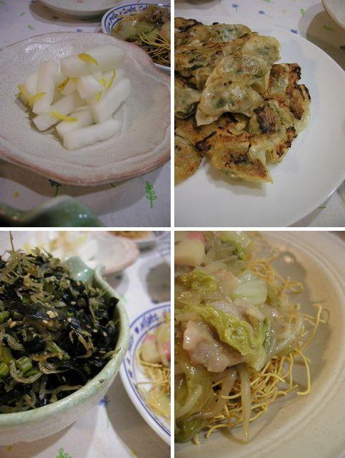 皿うどんにサラスパに餃子il||li _| ̄|● il||li