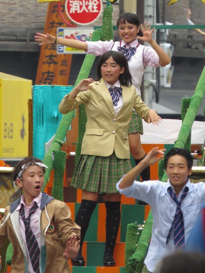 第36回浅草サンバカーニバル2017 その42(自由の森学園サンバ音楽隊)
