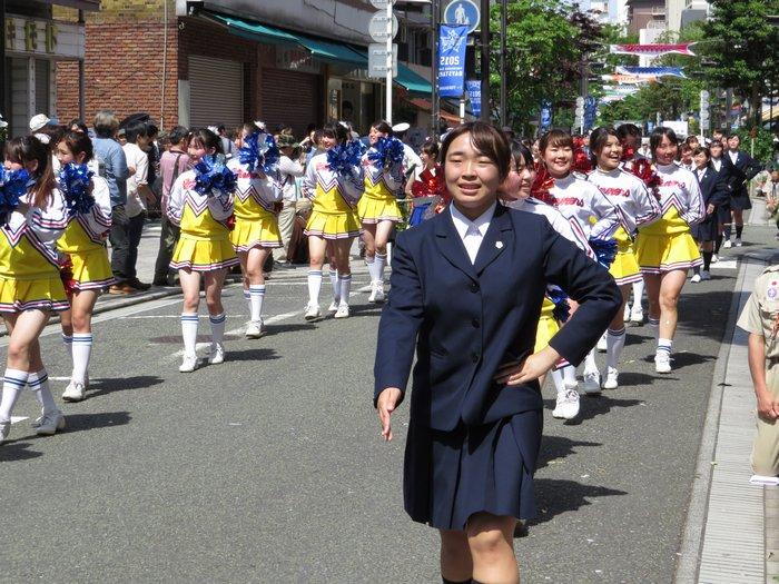 横浜市立金沢高等学校制服画像