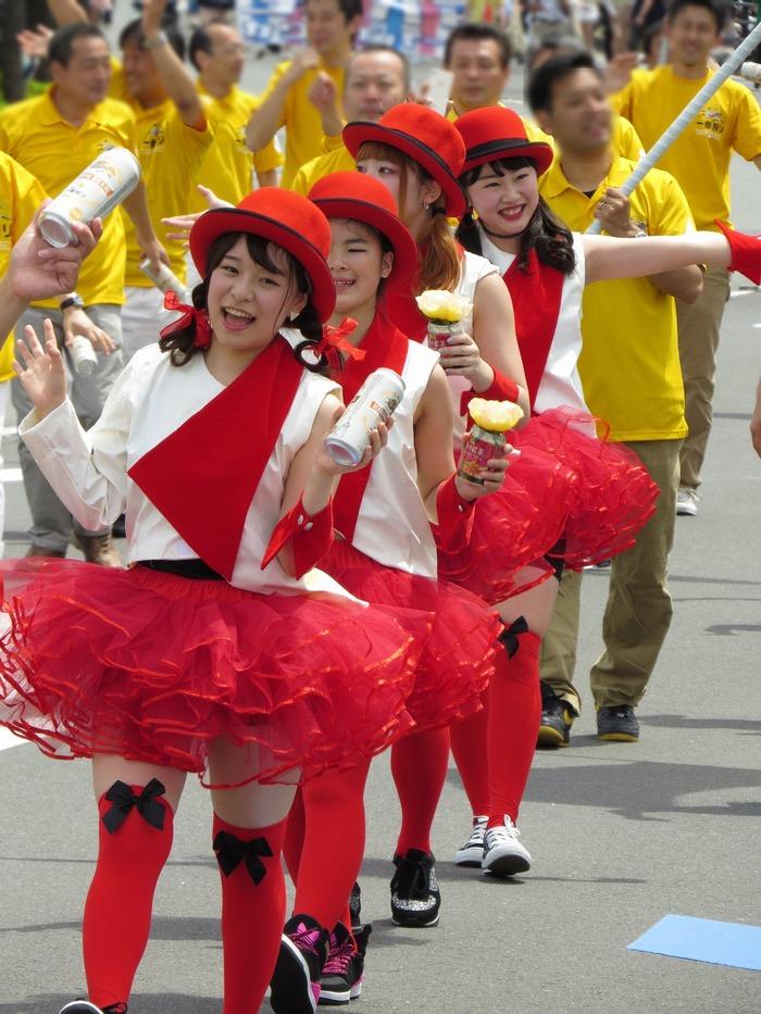 2017年横浜開港記念みなと祭国際仮装行列第65回ザよこはまパレード その33(キリンビール)