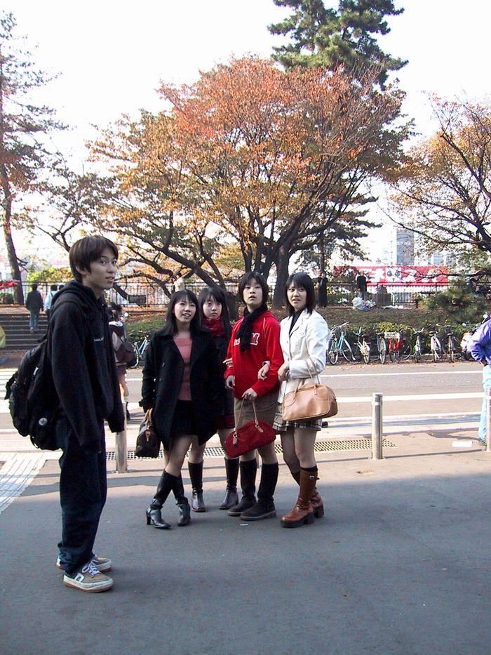 紅葉の季節(外堀公園)