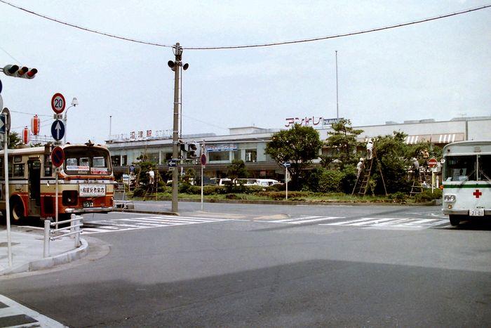 1988年当時の沼津駅前(静岡県・沼津市)