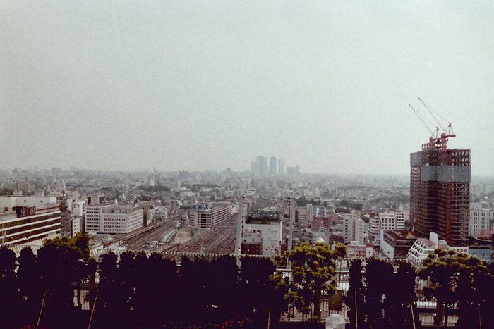 1984年当時の池袋(池袋・東武屋上)